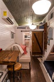 tiny homes interiors old blue chair at live a little chatt tiny houses interiors and