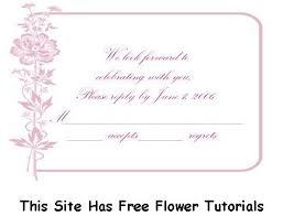 wedding invitations rsvp wording rsvp template tutti blush pink floral diy response cards free
