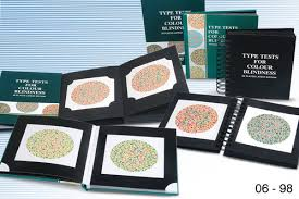 Color Blind Type Test Ishihara Color Test Book Periodic Tables