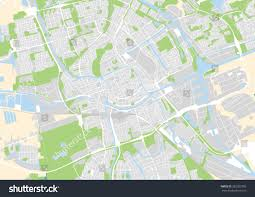City Map Of Torino Turin by Vector City Map Groningen Netherlands Stock Vector 382922785