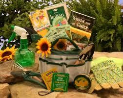 Gardener Gift Ideas Gardening Gift Basket Garden Tote And Tea List Price 74 99