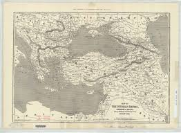 Map Of Ottoman Empire Fig 3 1 Dower U0027s Map Of The Ottoman Empire 1854 1877