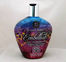 amazon com tan incorporated brown sugar embellish bronzer tanning