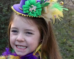 mardi gras headband mardi gras headband etsy