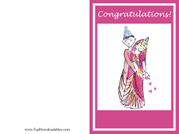 free wedding cards congratulations hindu wedding card template free printable and kits for theme