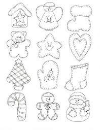 best photos of felt ornament patterns printable