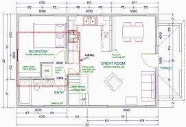 small house floor plans with loft 20 wide 1 1 2 story cottage w loft