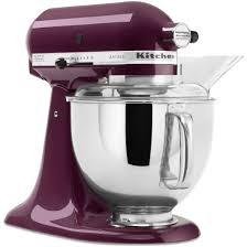 kitchenaid mixer black simple kitchen with dark purple artisan kitchen aid stand mixer