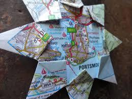 england home decor portsmouth england origami map ornament home decor wall art