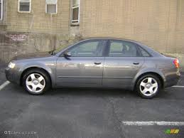2002 dolphin grey pearl effect audi a4 1 8t quattro sedan