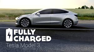 tesla tesla model 3 fully charged youtube