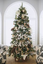 accessories personable natural christmas tree decorations ideas
