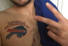 look horribly misguided fan gets buffalo bills 2016 super bowl