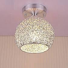 goeco mini modern chandeliers creative aluminum ceiling light for