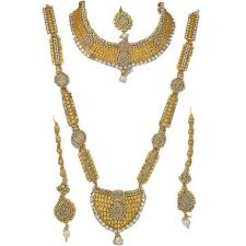women necklace set images Full dulhan necklace set for women champa bridal set beendani jpg