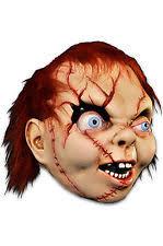 chucky mask scary chucky mask doll creepy sequel