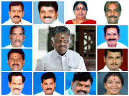 Central Cabinet Ministers தம ழக க ப னட அம ச சர கள ம