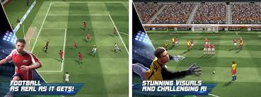 football for android real football apk version 1 4 0 gameloft