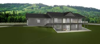 Walk Out Ranch House Plans Walkout Basements Plans By Edesignsplans Ca 1 Dream Home