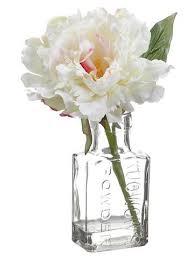 Vases With Fake Flowers Silk Peonies Artificial Peony Silk Flowers U2013 Afloral Com