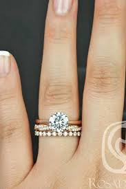 engagement ring and wedding band engagement and wedding rings 3960