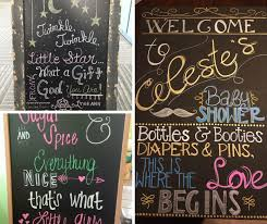 baby shower chalkboard diy baby shower party ideas for hip who