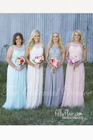 country style bridesmaid dresses 2017 country style cheap bridesmaid dresses grey blue pink ivory