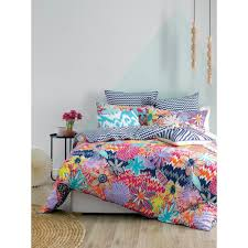 mod by linen house rukin quilt cover set brights king was 129 99
