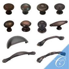 Oil Rubbed Bronze Cabinet Pull by Amerock French Country 5