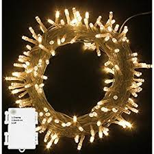 battery operated waterproof fairy lights with 10m 100 warm white