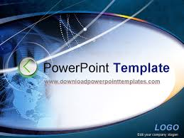 technology presentation template powerpoint free powerpoint