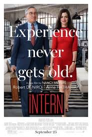 click to view extra large poster image for the intern movie