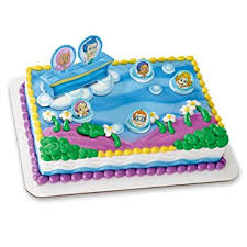 guppie cake toppers decopac guppies gil molly and decoset
