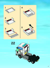 lego truck instructions lego police command center instructions 7743 city police rescue