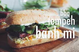 bbq tempeh banh mi for food youtube