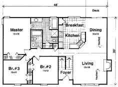 plan 22003sl cozy split level home plan traditional house plans