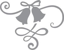 wedding ribbon wedding bells and ribbon pre cut patterns
