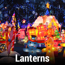 global winter lights theme park at cal expo