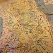Florida Turnpike Map by Flashback Friday Florida And Metropolitan Miami Road Map From