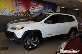 2014 Jeep Cherokee Trail Hawk At Ottawa Dodge Hard To Find
