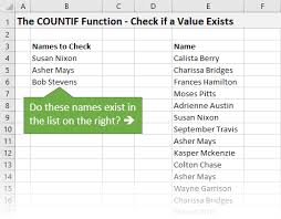 tutorial para usar vlookup how to use the countif function instead of vlookup video excel