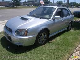 subaru metallic 2005 subaru impreza wrx wagon in platinum silver metallic 806081