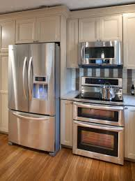 stainless steel commercial kitchen cabinets concrete wall and