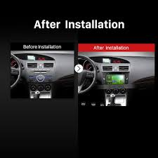 nissan mazda 3 8 inch touch screen android 7 1 dvd player car radio for 2010 2015