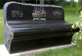 granite monuments etched granite monument memorial bench black granite memorial