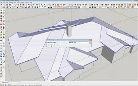 Hip Roof Design Software by Sketchup Instant Roof Creation Plugin Youtube