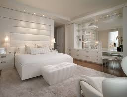 Luxury All White Bedroom Decorating Ideas Amazing Glamorous - Ideas for a white bedroom