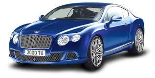 bentley cars 2016 blue bentley continental gt speed car png image pngpix