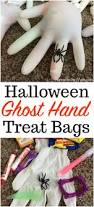 halloween ghost treat bags simple party favor idea