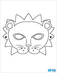 6 best images of printable lion mask animal masks sarah